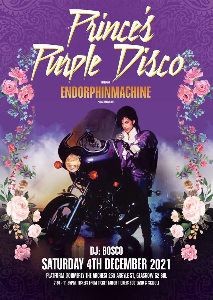 Prince's Purple Disco Poster