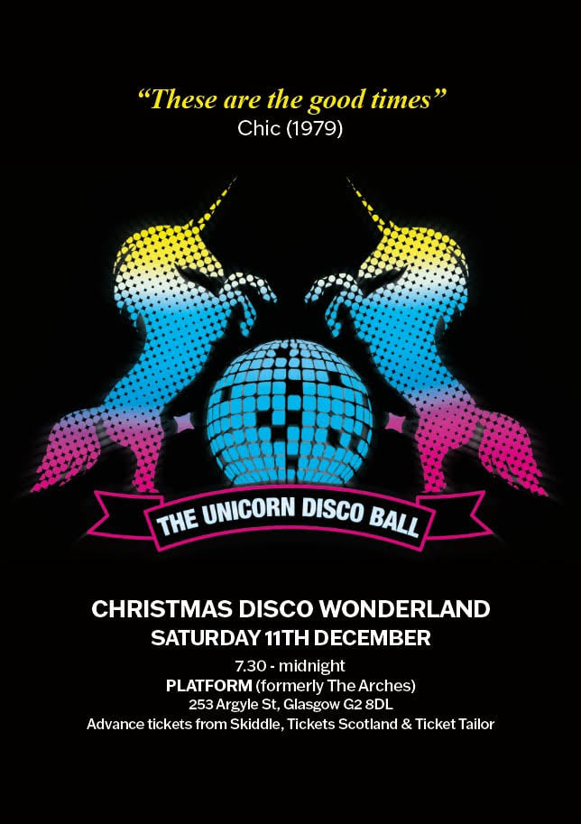 UnicornDiscoBall Poster